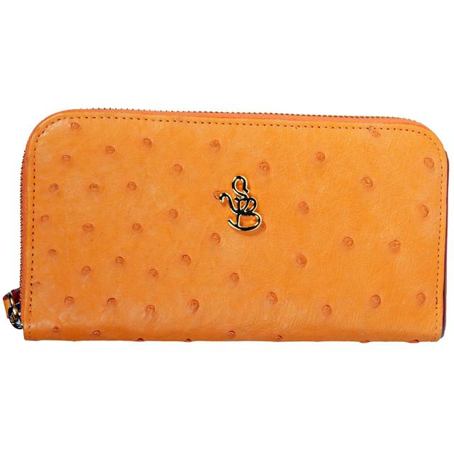 Кошелёк женский Silvano Biagini SB211 arancio sb ostrich full wallet